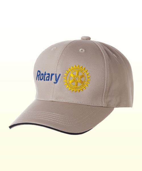 Rotary Logo Cap(Beige)