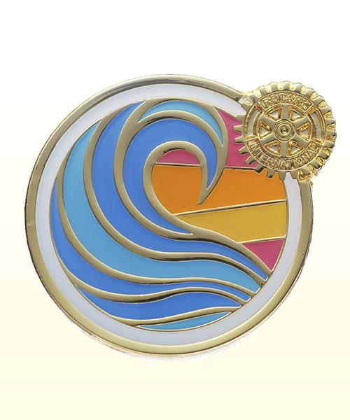 2018-2019 Theme Pin